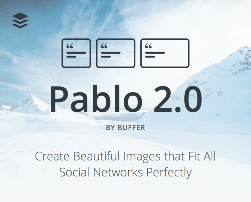 Pablo 2 launch social media images