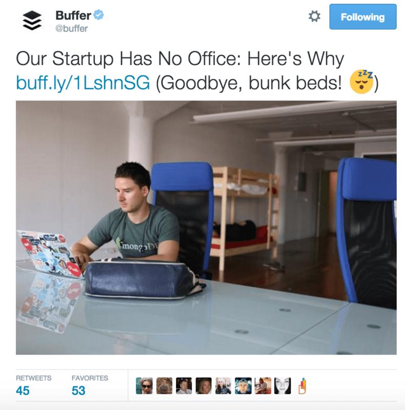 Buffer-Tweet