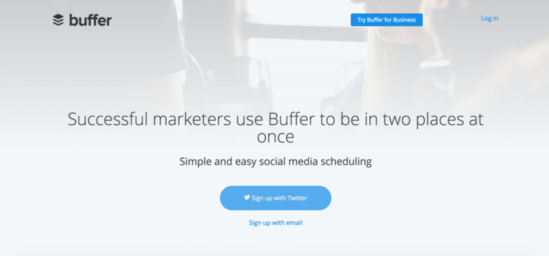 buffer-homepage