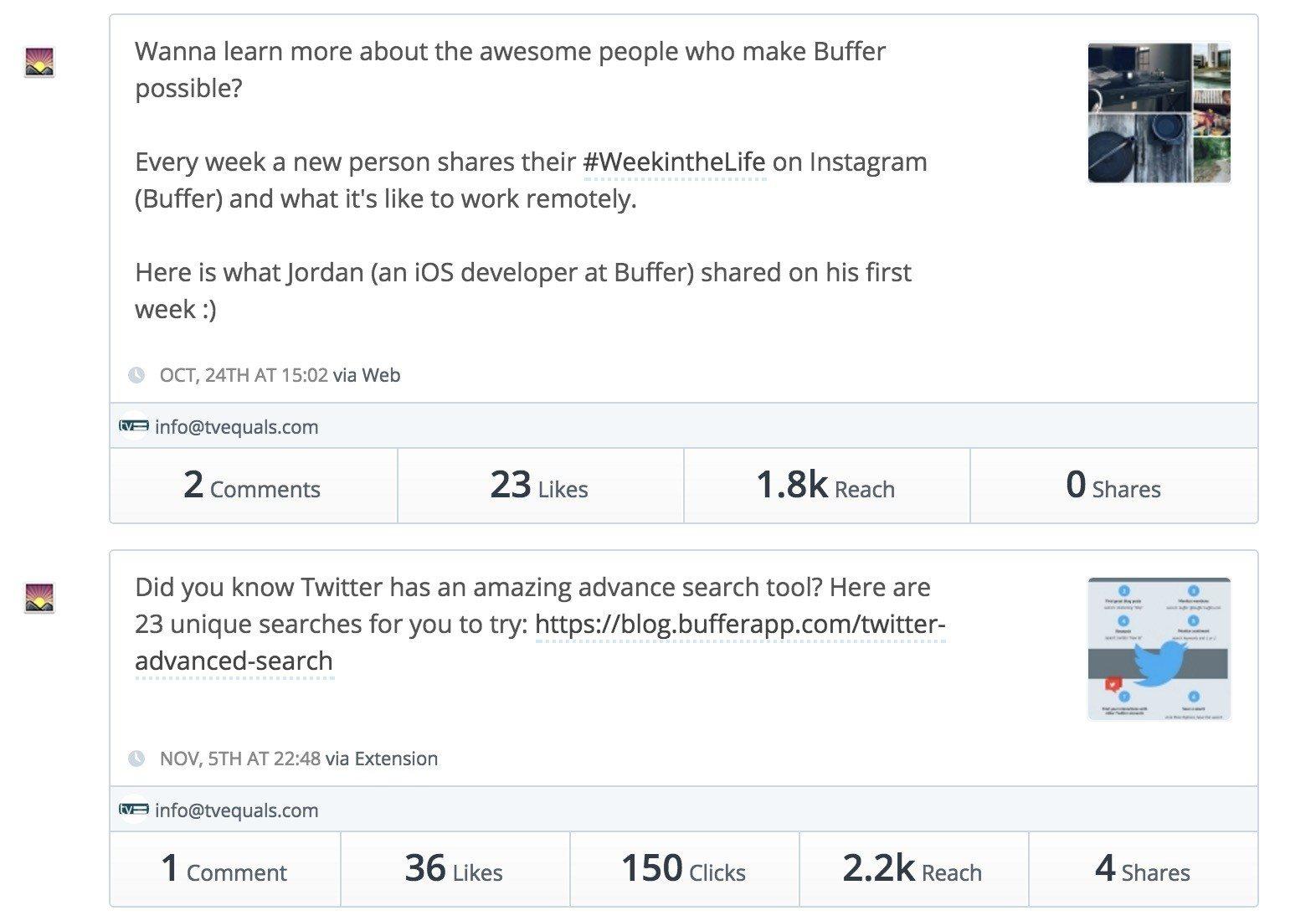 Buffer Facebook Popular Posts 6