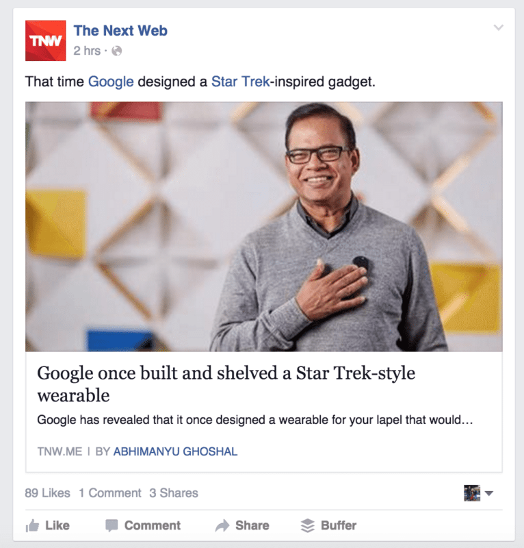 TNW facebook