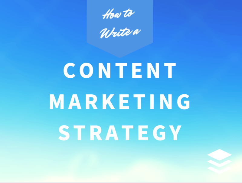 content marketing strategy hero image