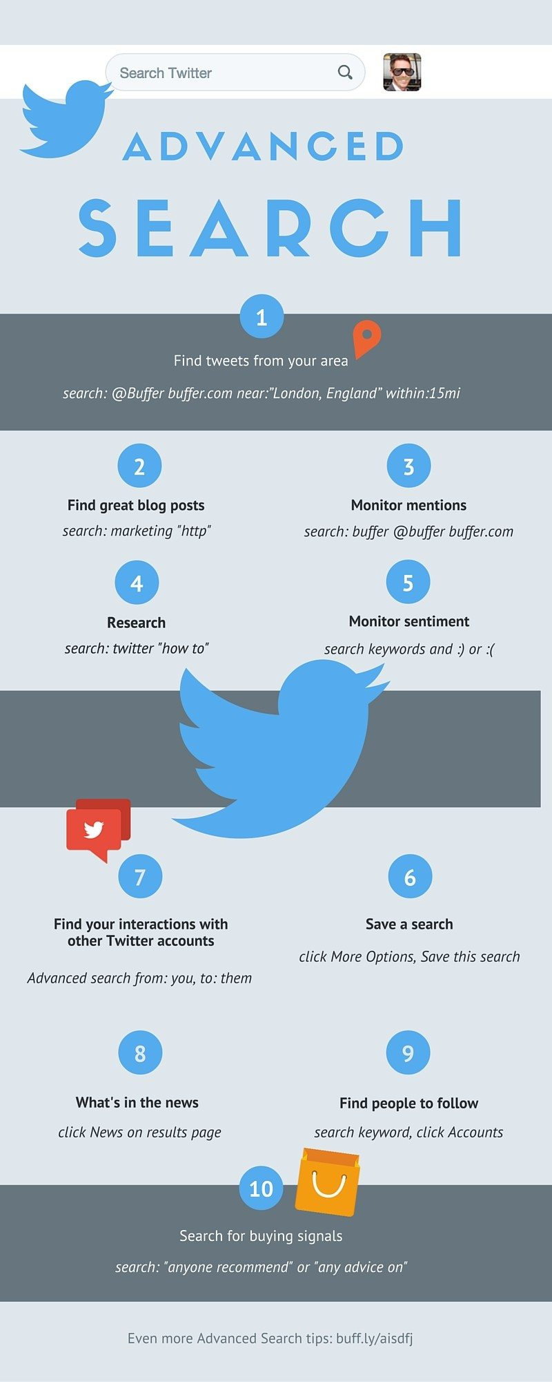 twitter advanced search infographic