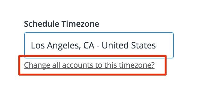 Change Your Timezone 3