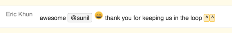 hipchat text