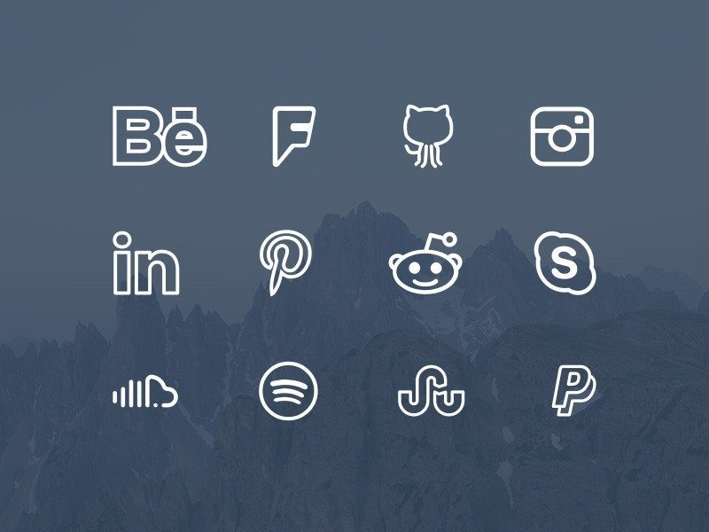 free-simple-line-icons-font