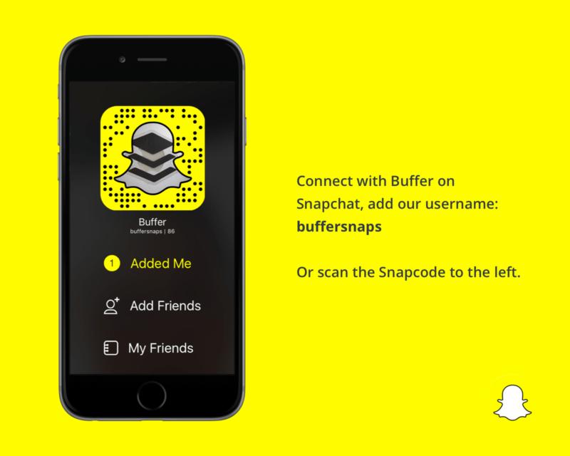 buffer-snapchat