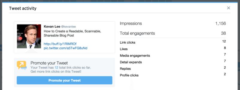 promote a tweet