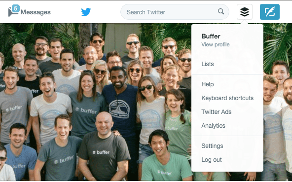Buffer Twitter Analytics Tab