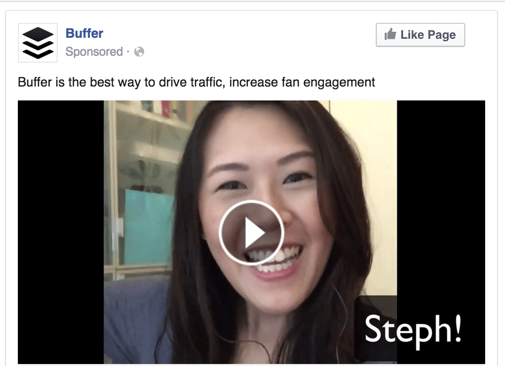 Get video views - Facebook ads