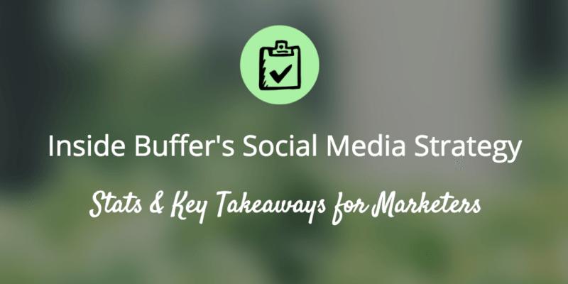 social media strategy, social media, buffer social media