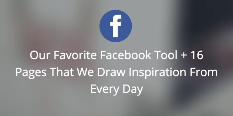 Facebook Inspiration, facebook, social media marketing,