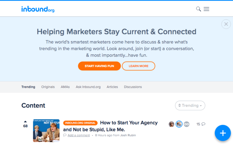 Inbound.org, Inbound marketing, brand monitoring, brands, social media, marketing