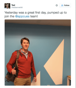 Appcues Employee Advocacy
