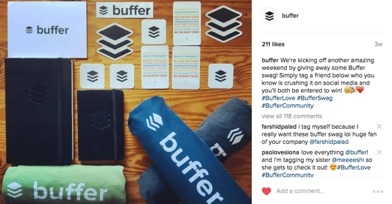 Buffer Instagram Post from May, Instagram Marketing