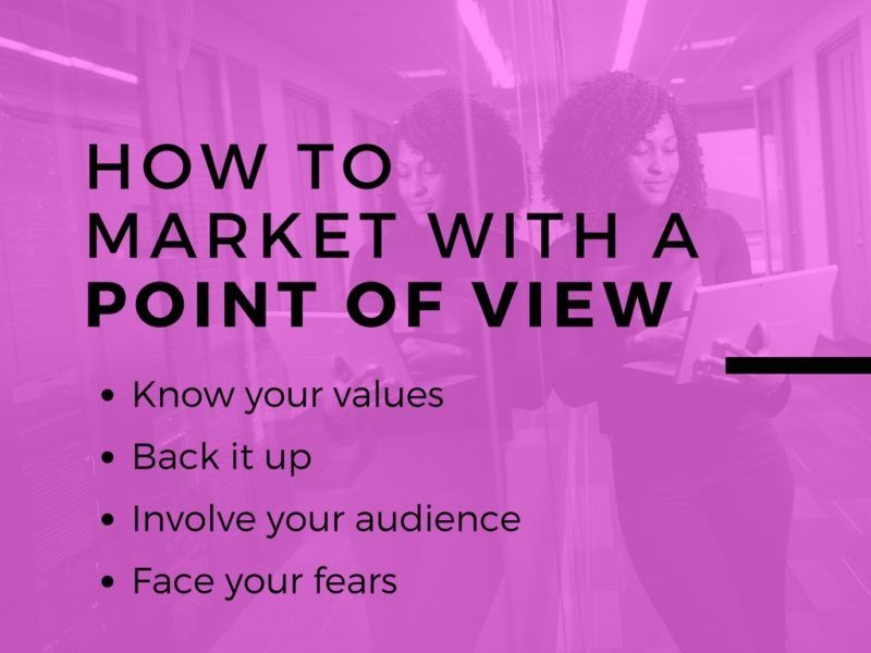 4 steps of POV marketing
