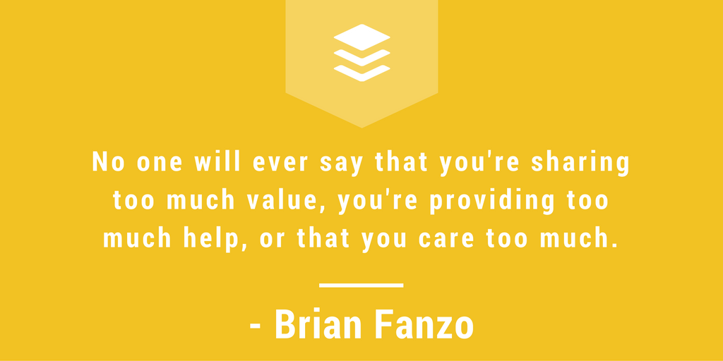 Brian Fanzo interview, the science of social media, podcast, becoming a thought leader on social media