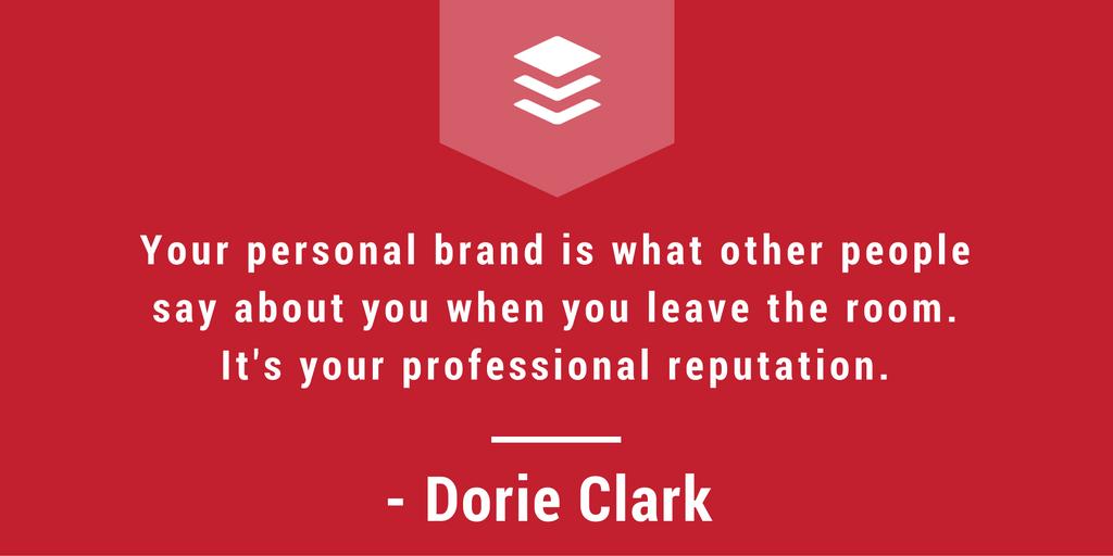 Personal Brand, personal branding, dorie clark interview, dorie clark