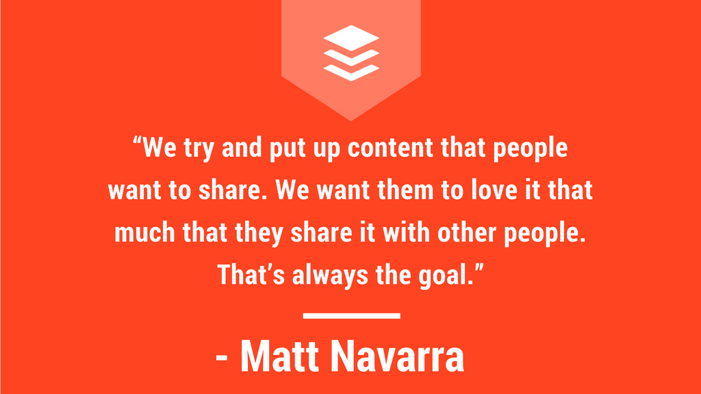 matt navarra interview quote
