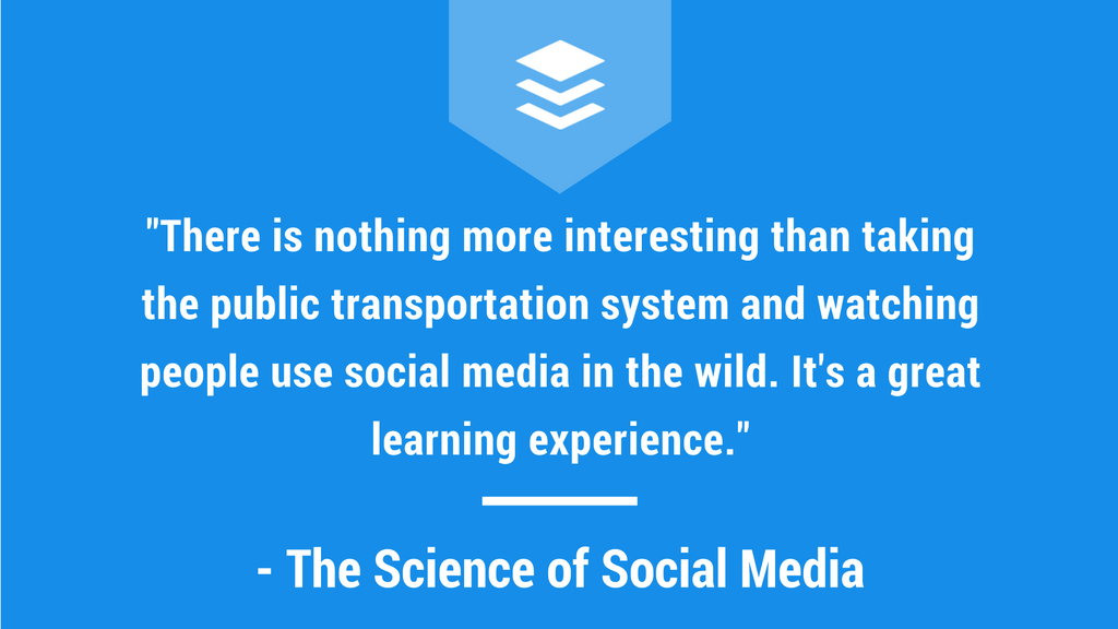 The Science of Social Media Buffer Podcast Quote, social media podcast, marketing, buffer podcast
