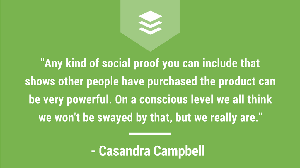 Casandra Campbell Shopify Quote, Holiday Marketing Quote, Social Media