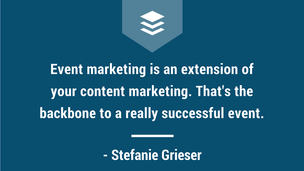 Event Marketing Tips with Stefanie Grieser