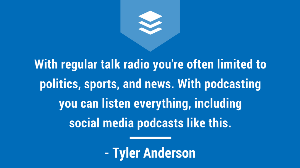 Tyler Anderson, Socia Media Social Hour, Quote