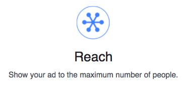 Reach objective