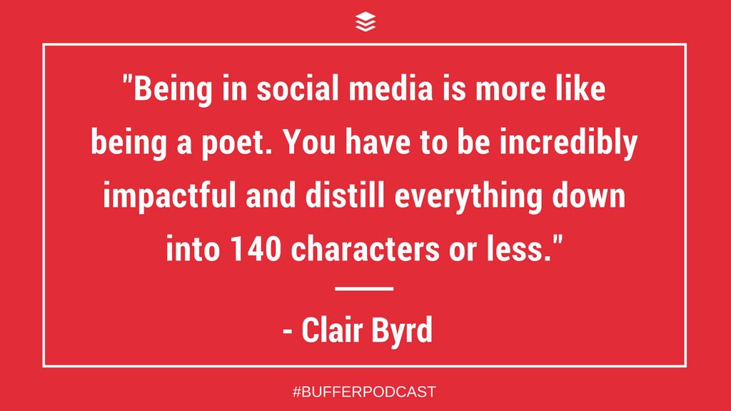 Clair Byrd: Social Media Marketing Skills