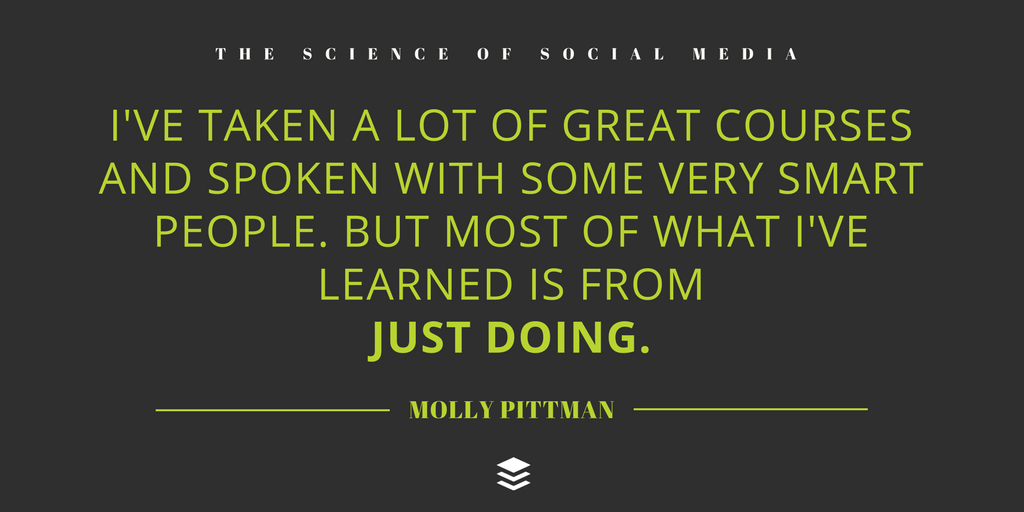 Molly Pittman Quote on Creating the Perfect Facebook Ad