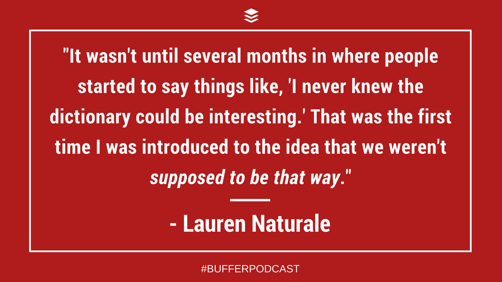 Lauren Naturale Quote - The Science of Social Media