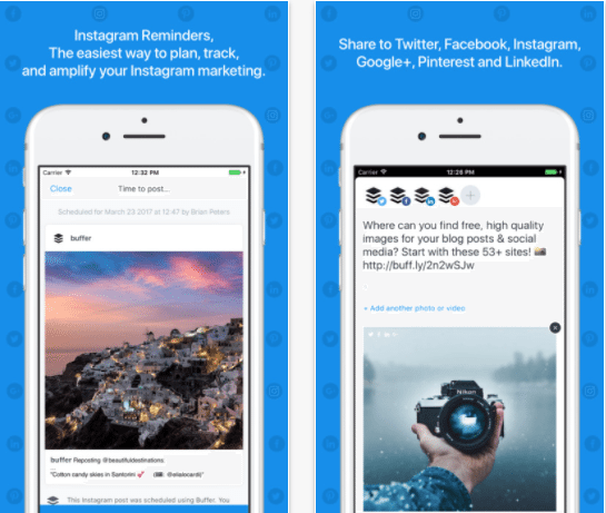 Buffer iOS App