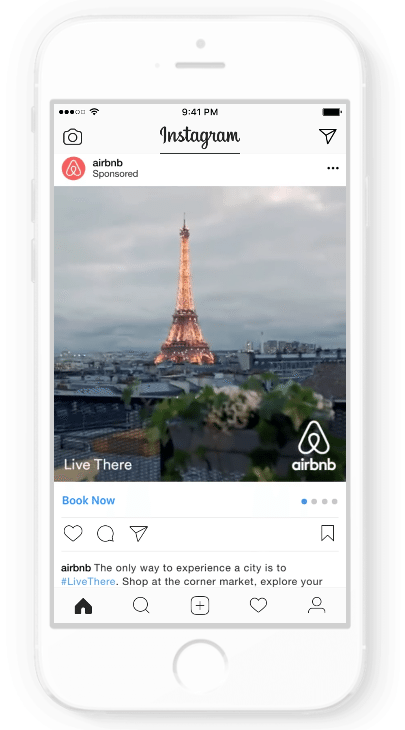Airbnb Instagram Ad