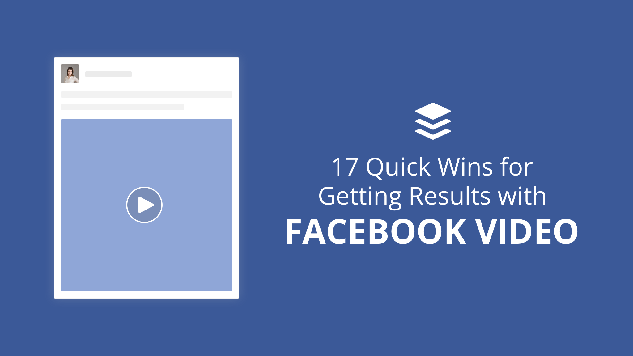 Facebook video tips