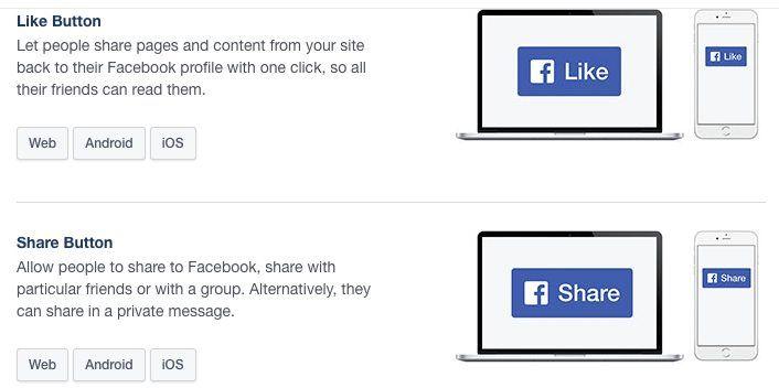 Facebook Like - Share - Send Buttons