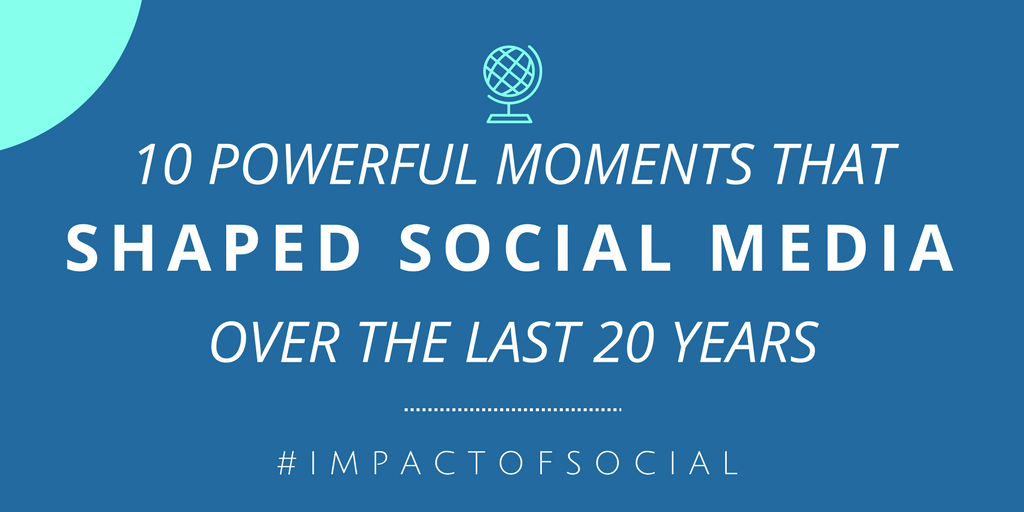 10 Powerful Moments That Shaped Social Media Over the Last 20 Years