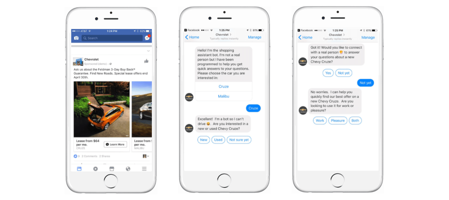 Leads chatbot
