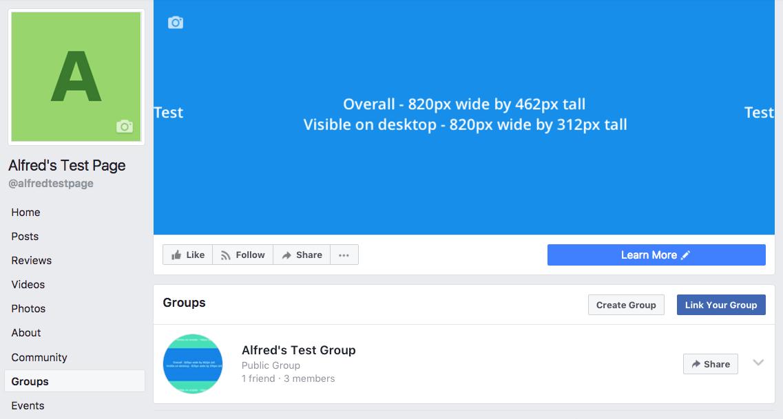 Linked Facebook Group