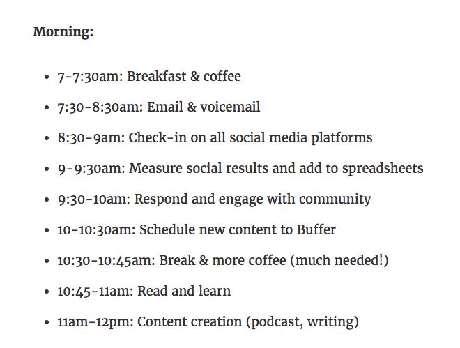 Brian Peter's schedule