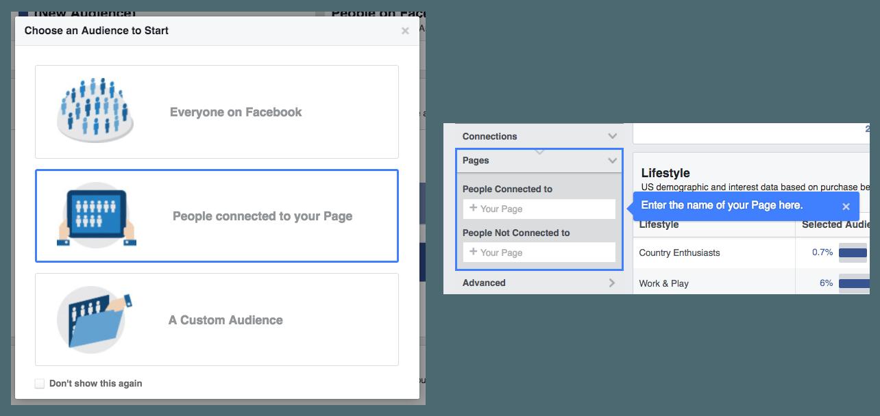 Enter Facebook Page
