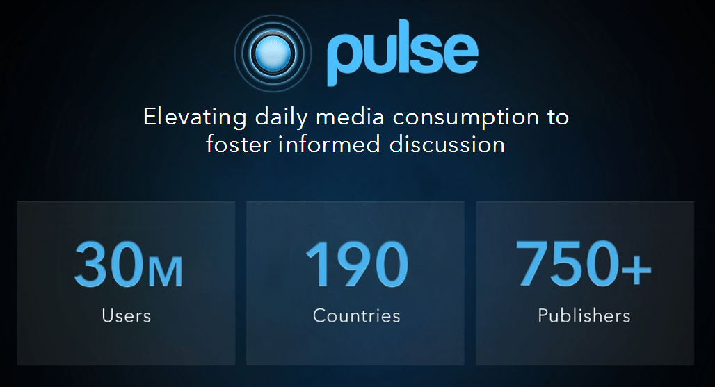 LinkedIn Pulse Acquisition