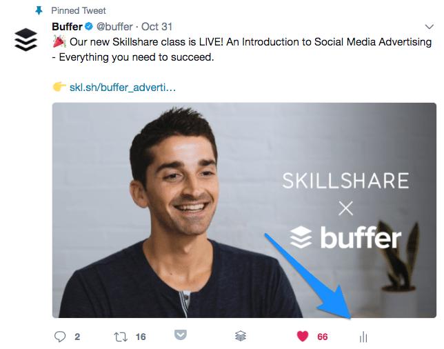 Promote tweet