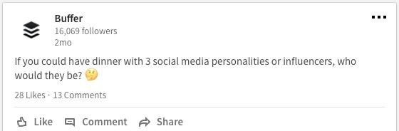 Top LinkedIn post 3