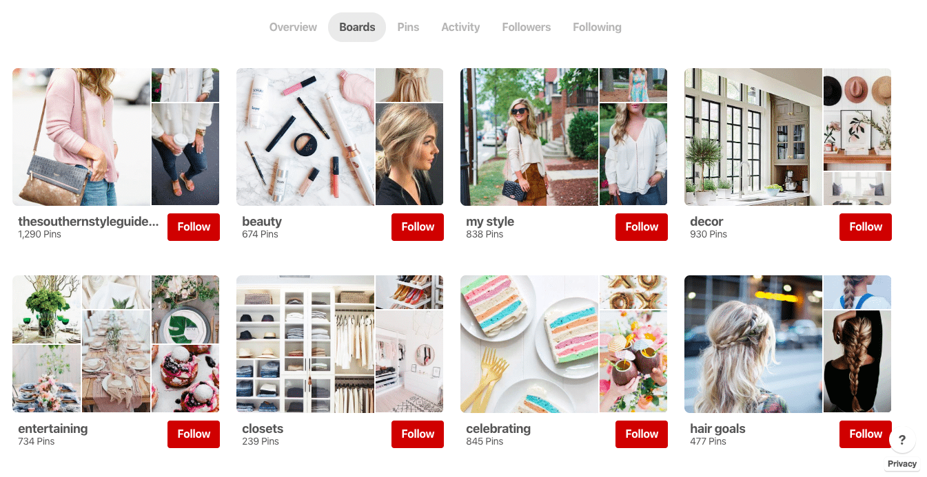 How to Use Pinterest Boards