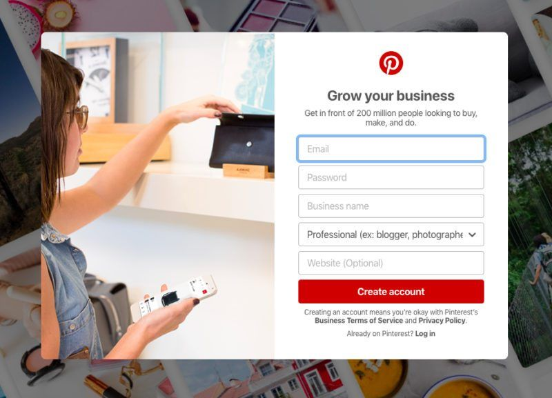 Creating a Pinterest Business Account