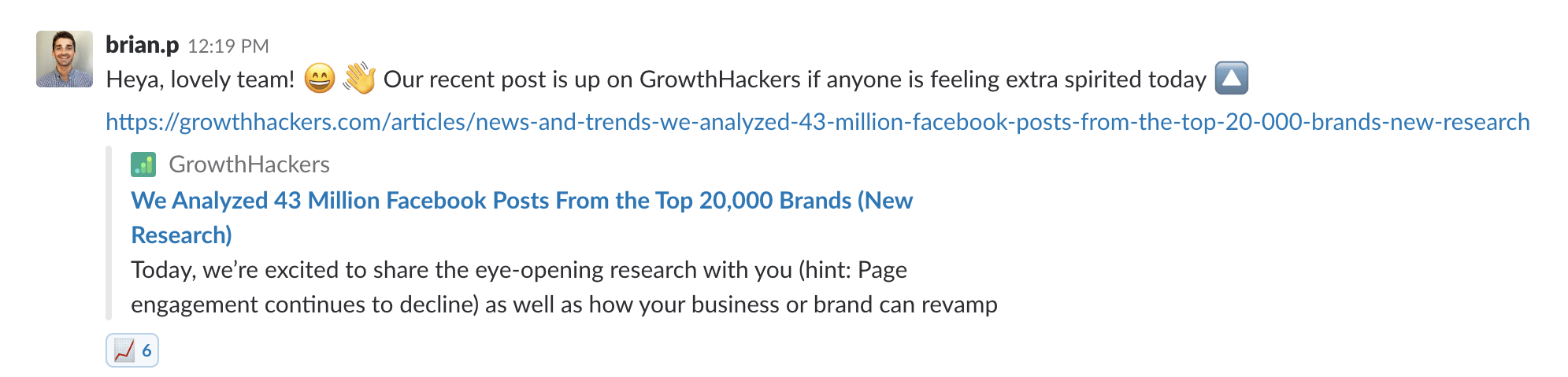 Ask for Content Upvotes on GrowthHackers