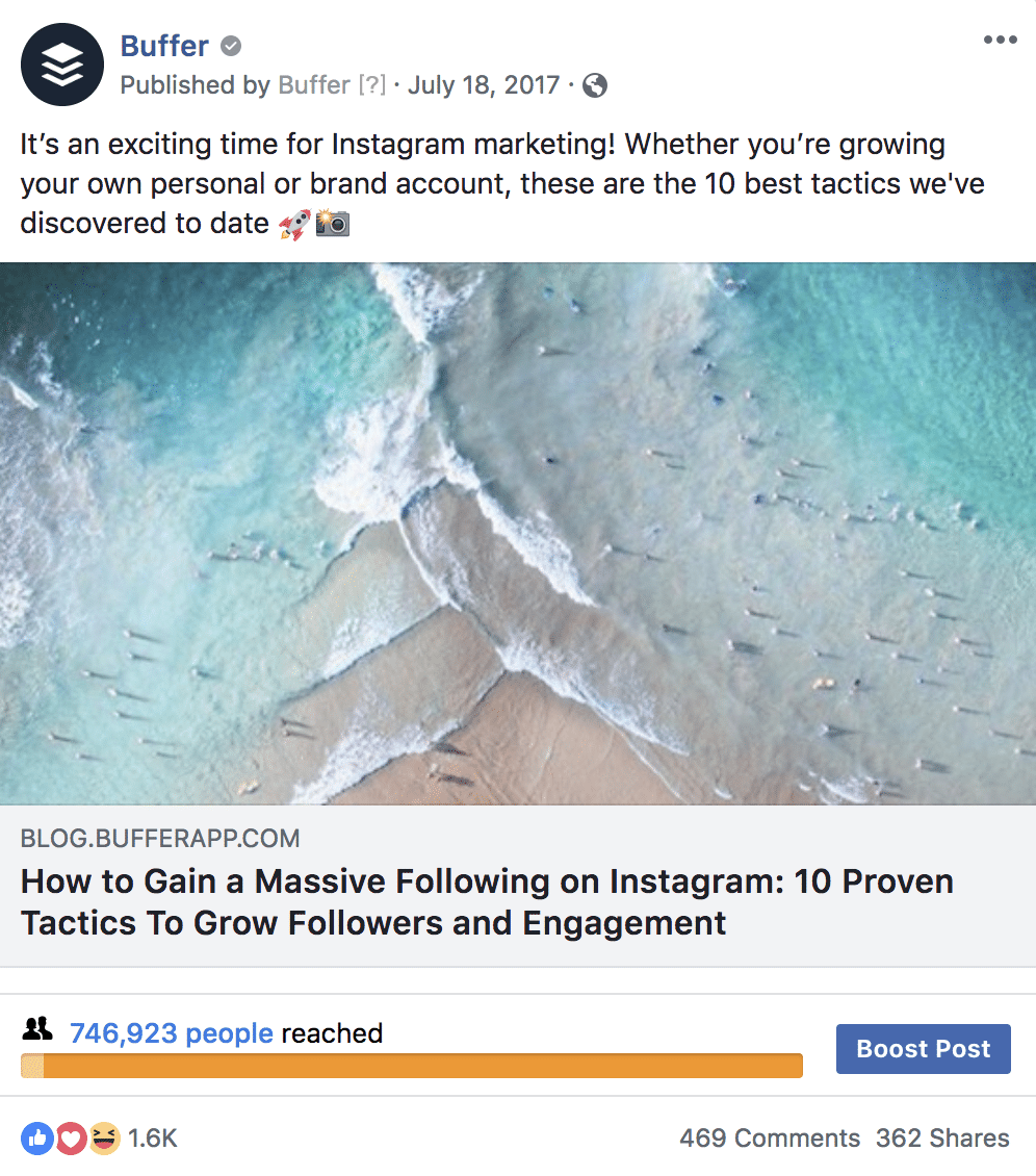 Instagram Growth Facebook Ad