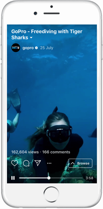 GoPro IGTV video