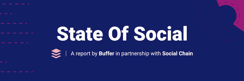 Buffer State of Social Media 2019 Report