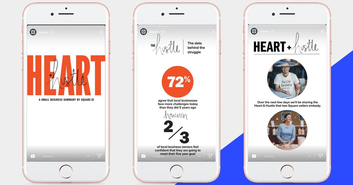 Heart + Hustle Instagram Stories series